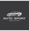 Auto sport abstract design template vector