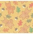 Cute animal seamless pattern vector