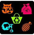 Eco - green life - set vector