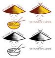 Vietnamese cuisine vector