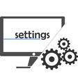 - settings vector