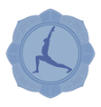 Man yoga vector