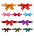 Gift ribbons set vector