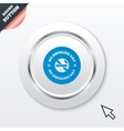 No smoking day sign icon quit smoking day vector
