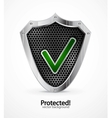 Protected icon vector