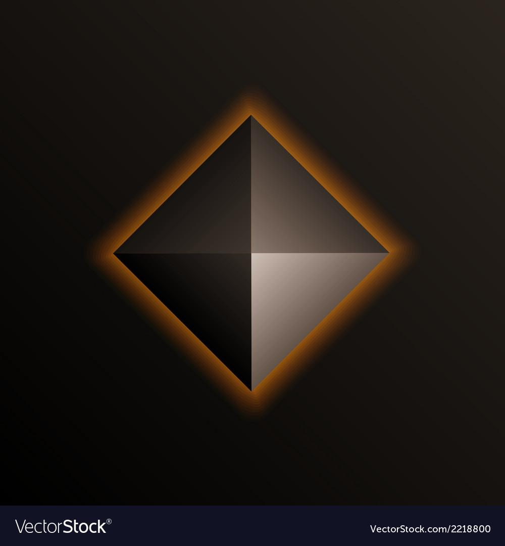 Pyramid vector | Price: 1 Credit (USD $1)