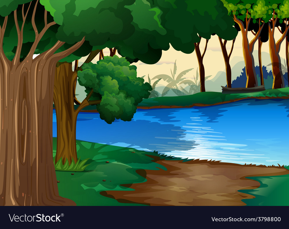 River vector | Price: 1 Credit (USD $1)