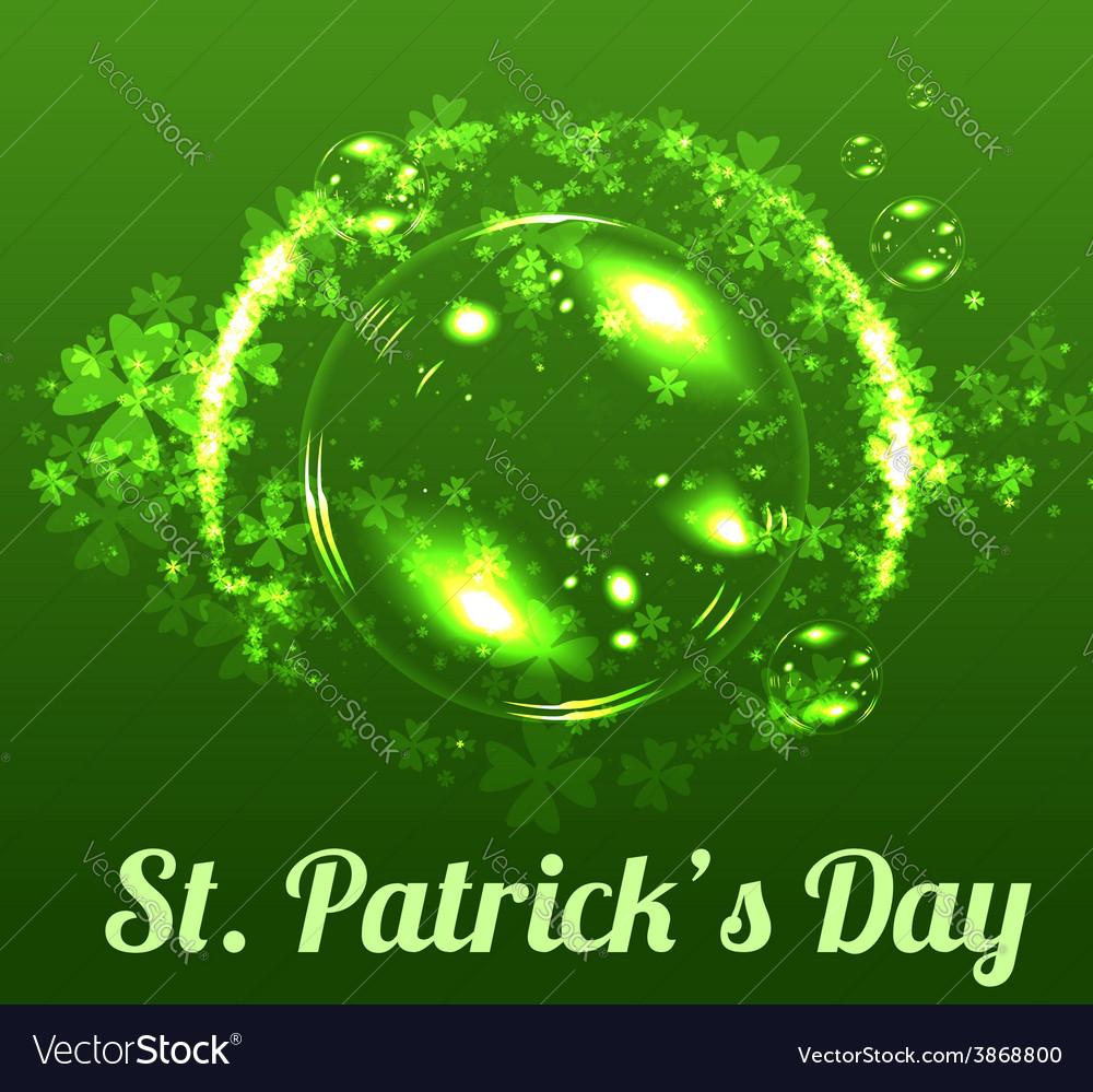 St patricks day background vector   Price: 1 Credit (USD $1)