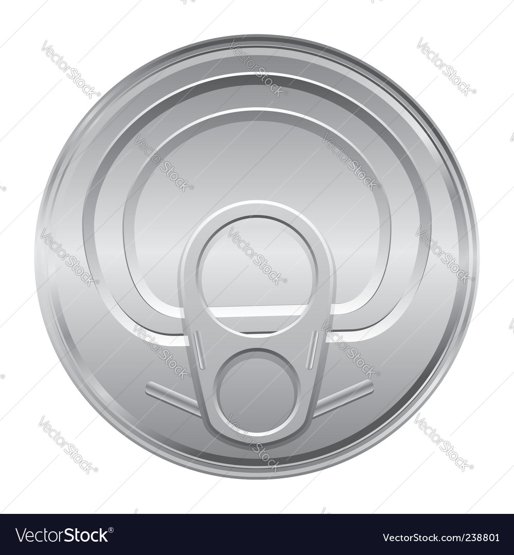 Can lid vector | Price: 1 Credit (USD $1)