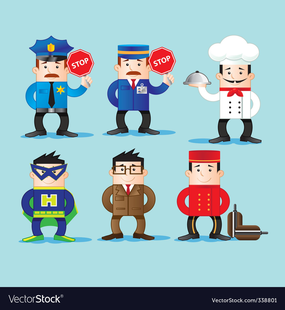 Characters vector | Price: 3 Credit (USD $3)