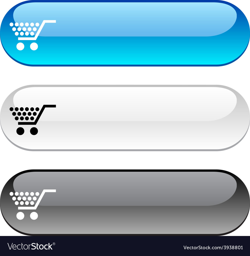 Shopping button vector | Price: 1 Credit (USD $1)