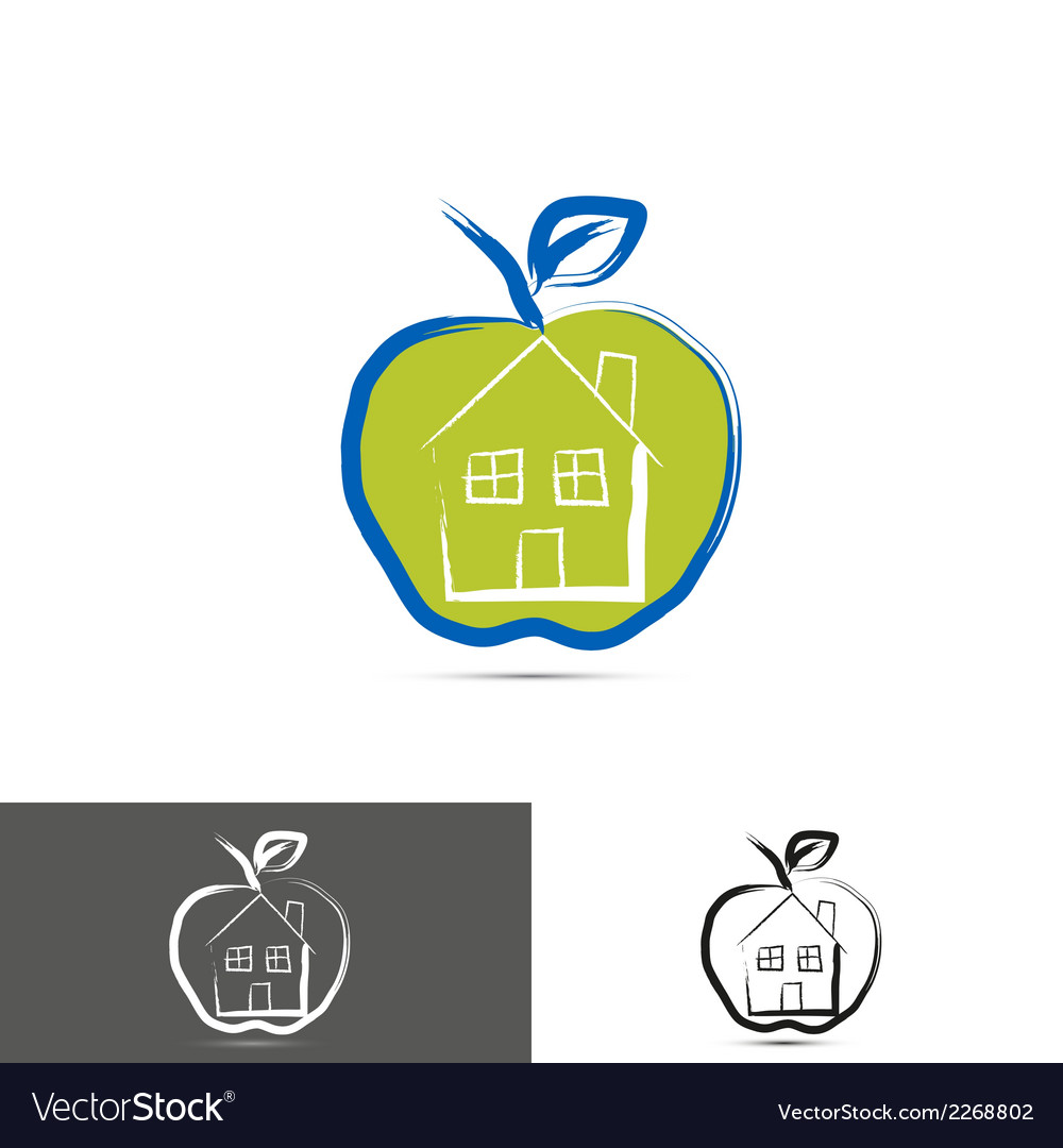 House home logo icon vector   Price: 1 Credit (USD $1)