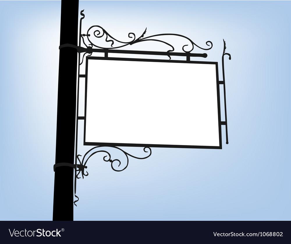Retro signboard vector   Price: 1 Credit (USD $1)