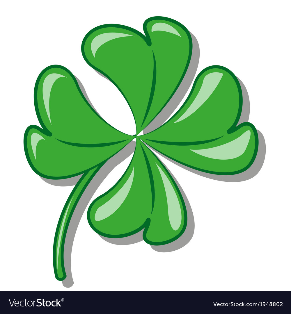 Shamrock vector | Price: 1 Credit (USD $1)