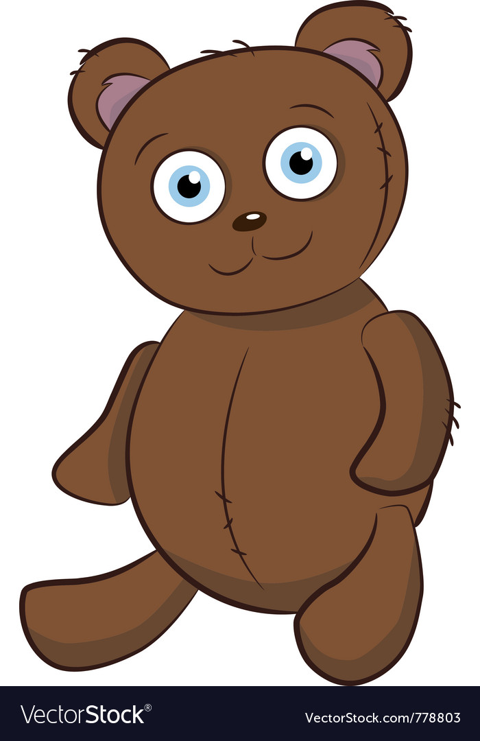 Bear toy vector | Price: 3 Credit (USD $3)