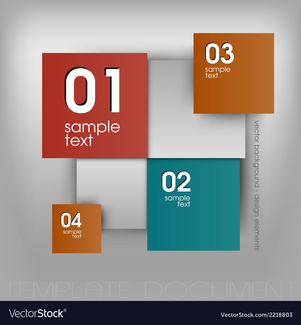 Color squares design vector | Price: 1 Credit (USD $1)