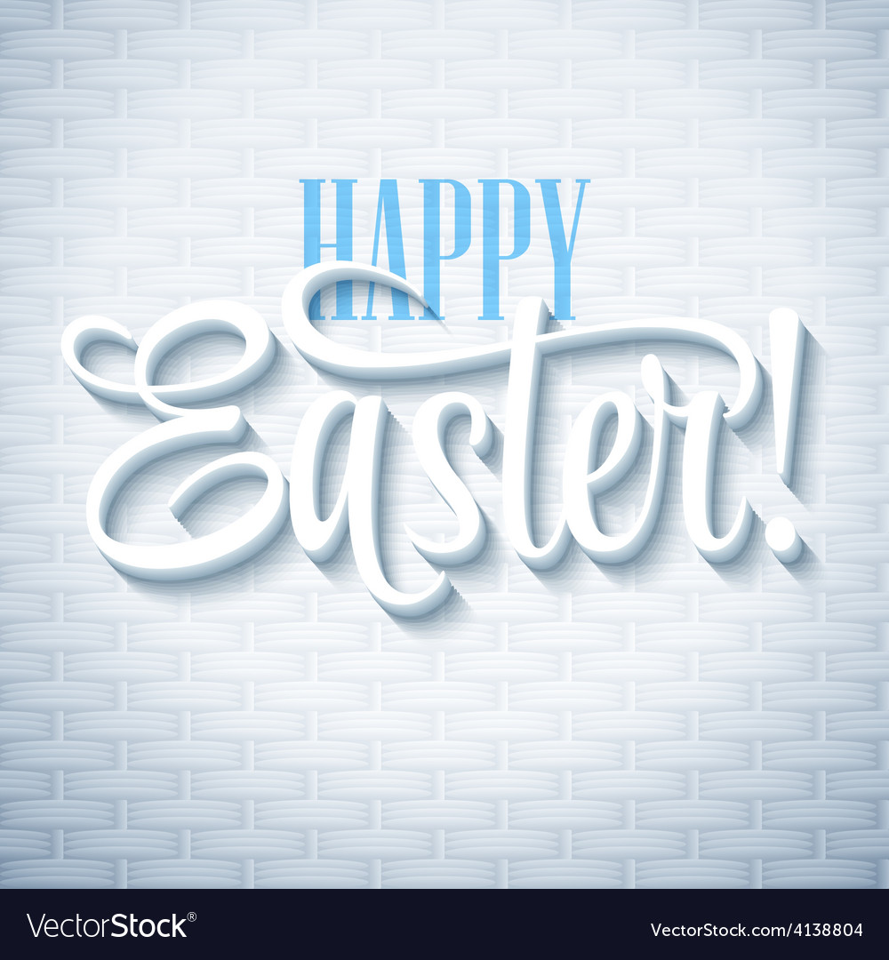 Easter greeting with eggs vector | Price: 1 Credit (USD $1)