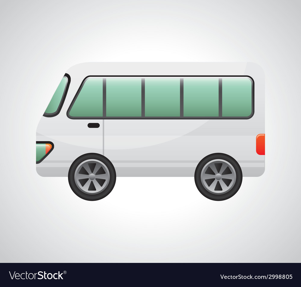 Bus design vector | Price: 1 Credit (USD $1)