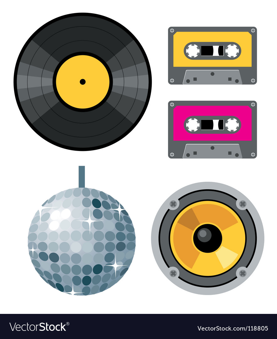 Club design elements vector | Price: 1 Credit (USD $1)