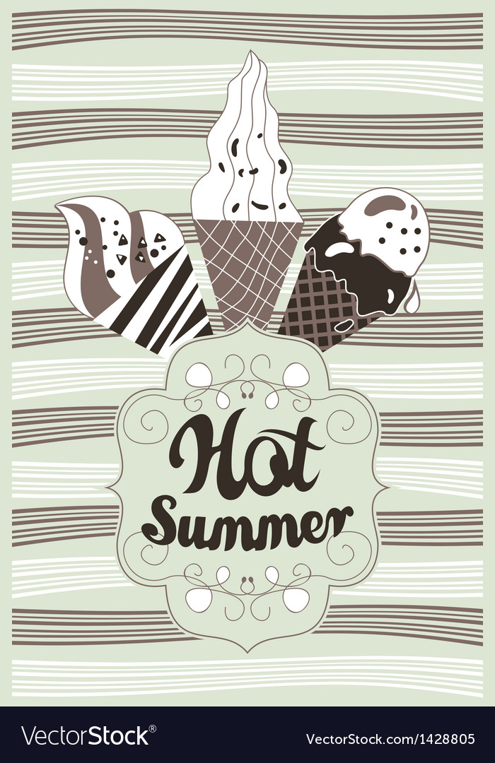 Hot summer vector | Price: 1 Credit (USD $1)