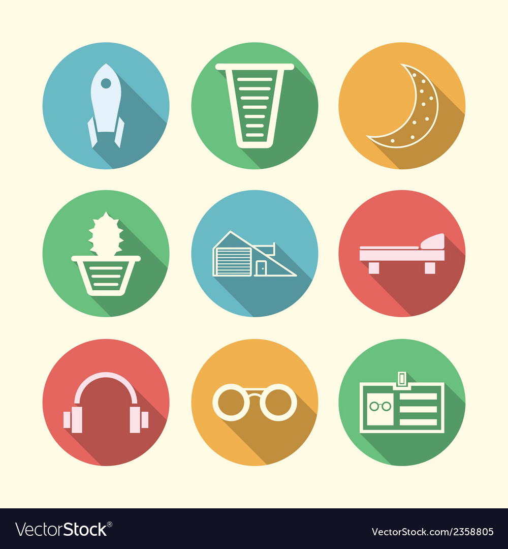 Icons for freelance and business vector | Price: 1 Credit (USD $1)