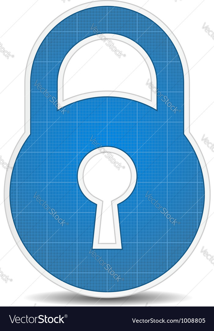 Lock icon vector | Price: 3 Credit (USD $3)