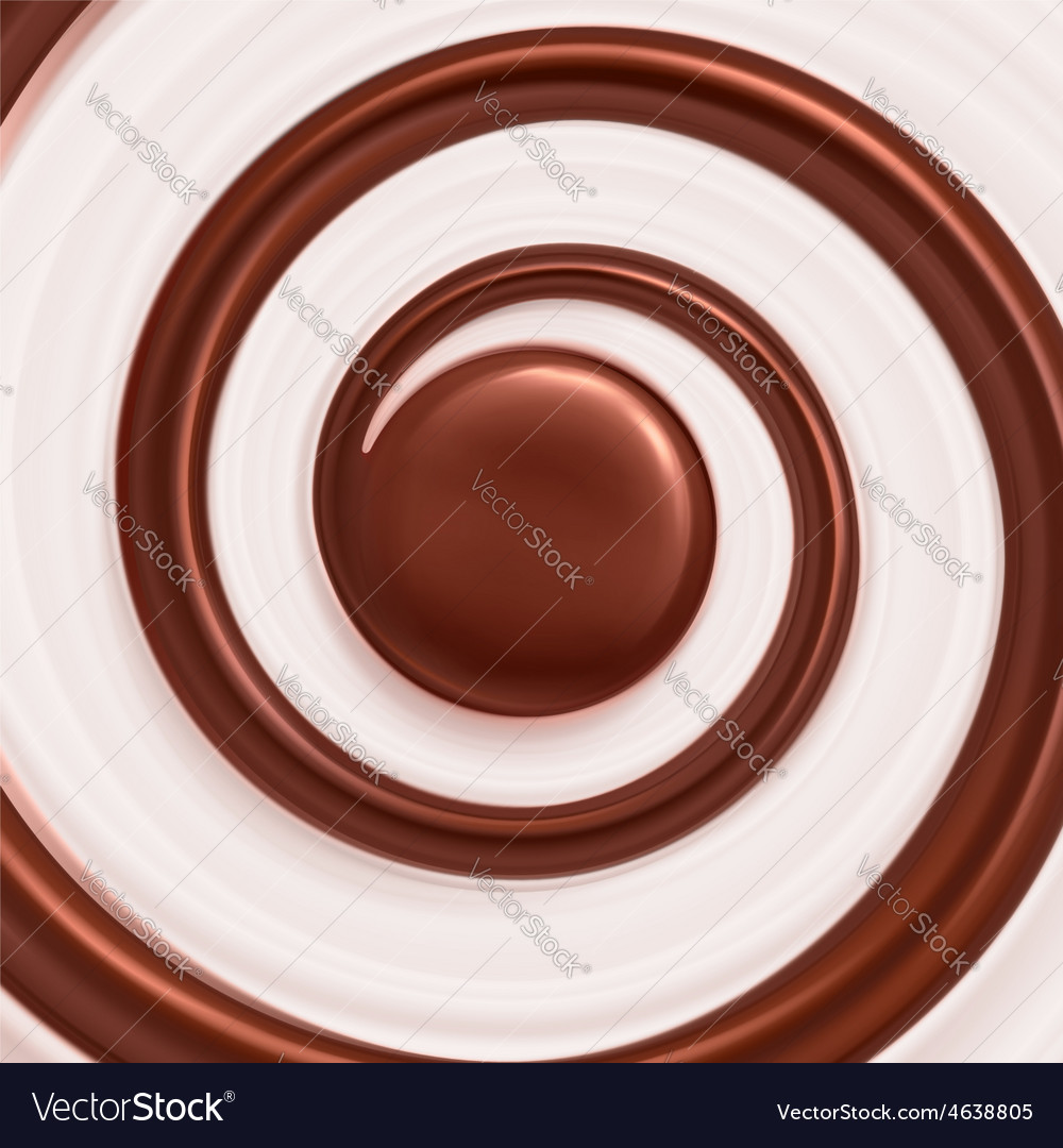 Sweet spiral background vector | Price: 1 Credit (USD $1)