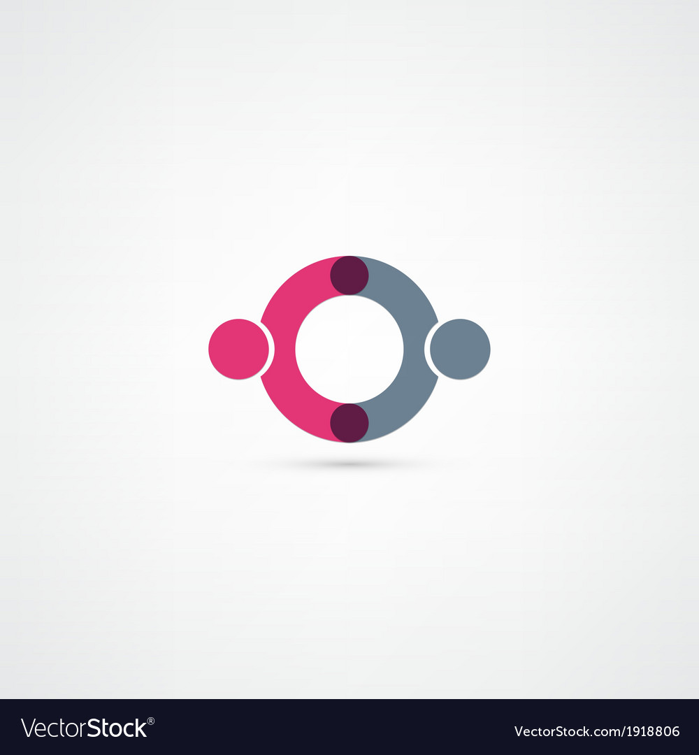 Business icon handshake vector | Price: 1 Credit (USD $1)