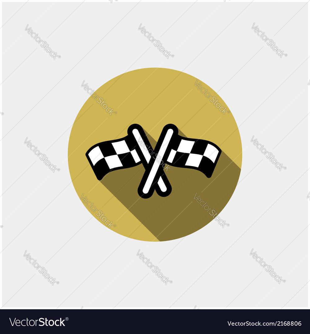 Finish flag icon vector | Price: 1 Credit (USD $1)
