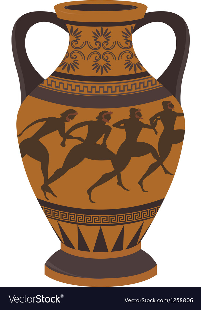 Greek vase vector | Price: 1 Credit (USD $1)