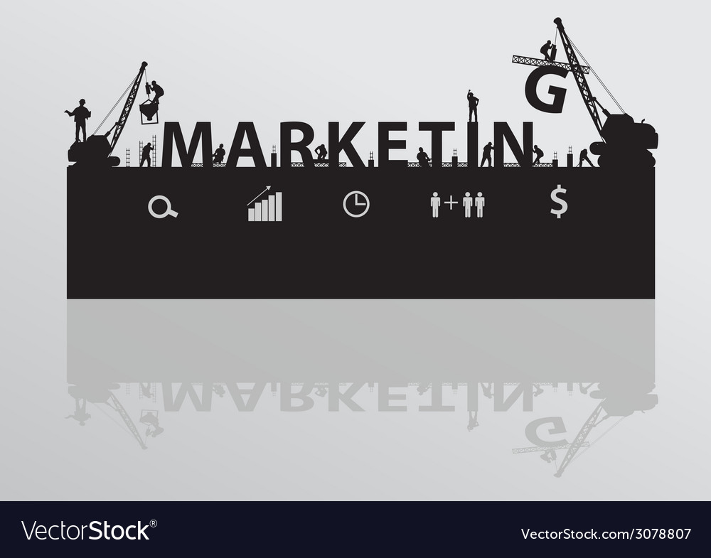 Construction site crane building marketing text vector | Price: 1 Credit (USD $1)