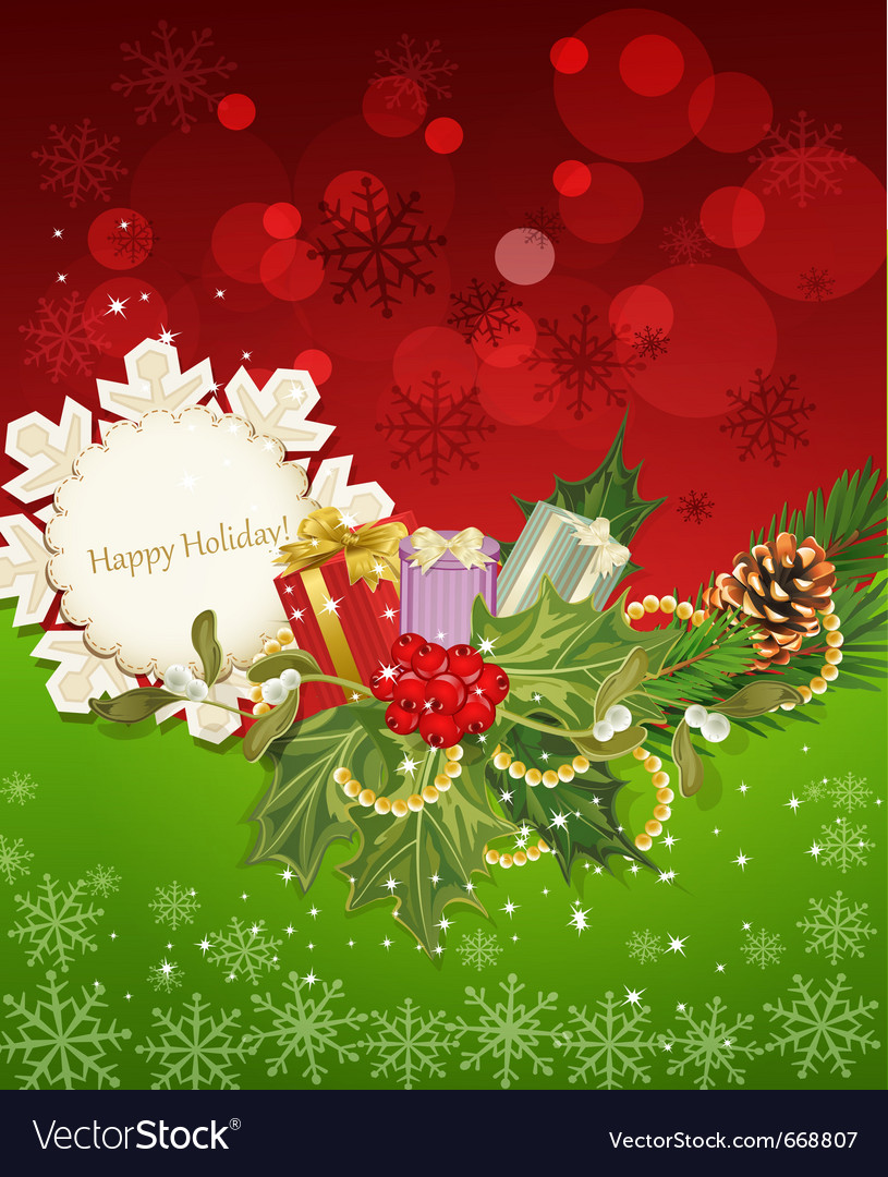 Holiday background vector | Price: 3 Credit (USD $3)