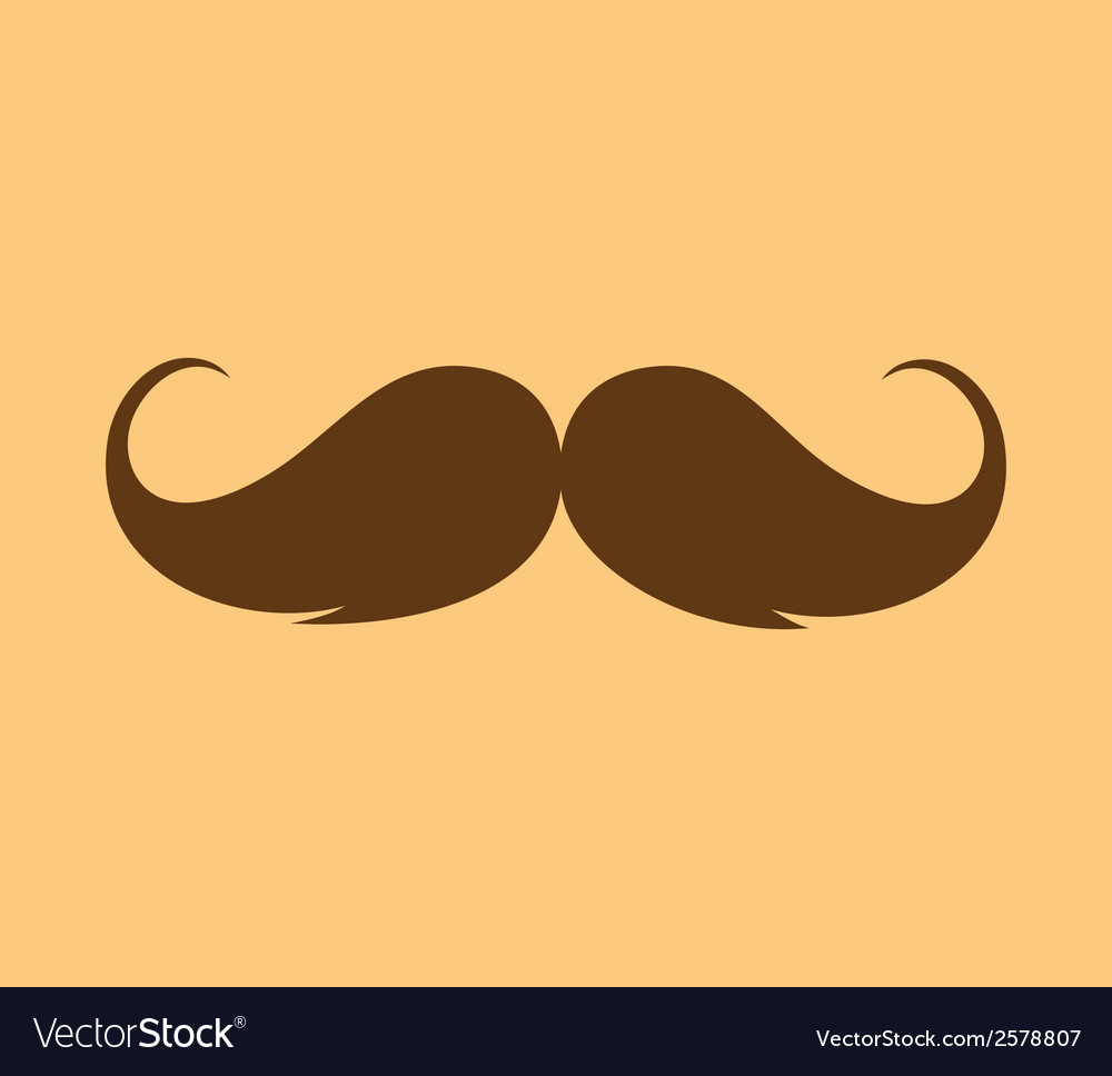 Inspirational - mustache growing vector | Price: 1 Credit (USD $1)