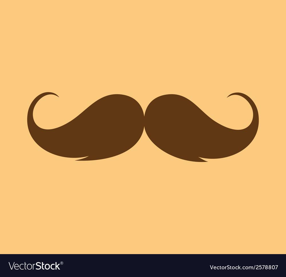 Inspirational - mustache growing vector | Price: 1 Credit (USD $1)