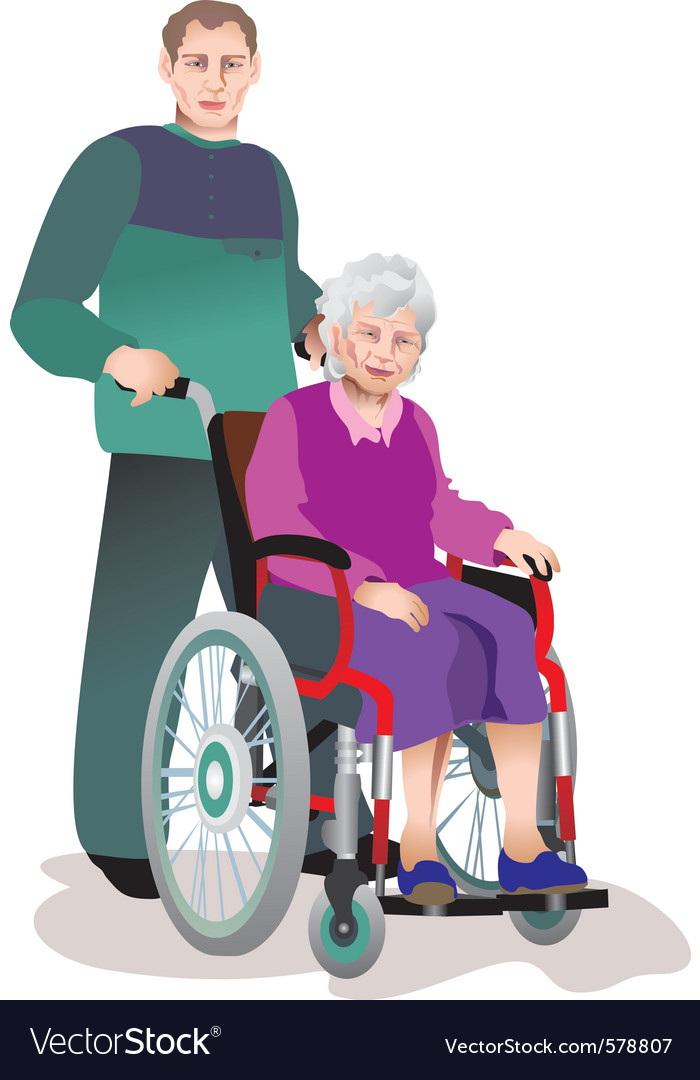 Old people vector | Price: 3 Credit (USD $3)