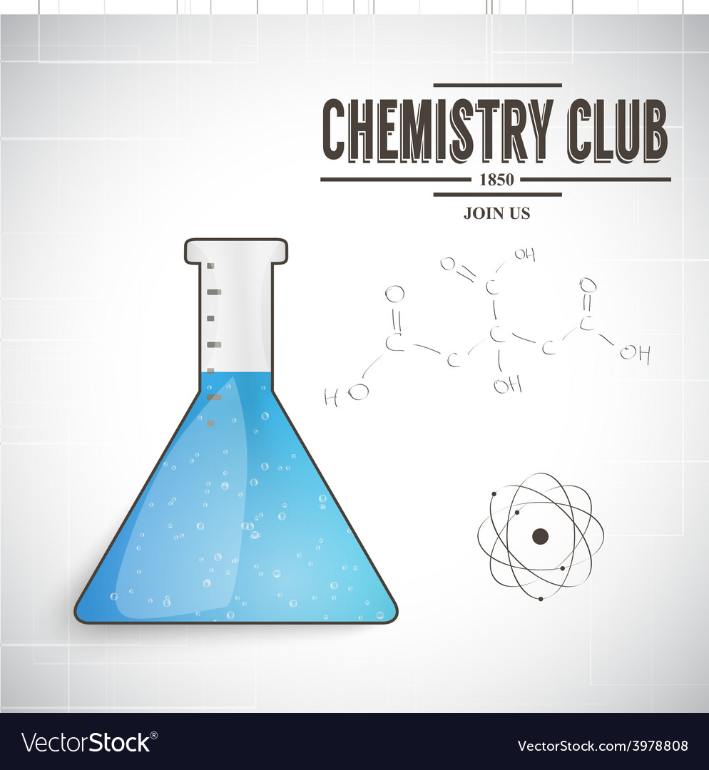 Chemistry club vector | Price: 1 Credit (USD $1)
