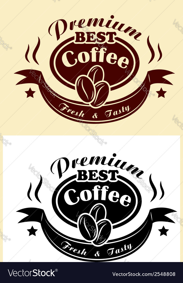 Premium coffee banner vector | Price: 1 Credit (USD $1)