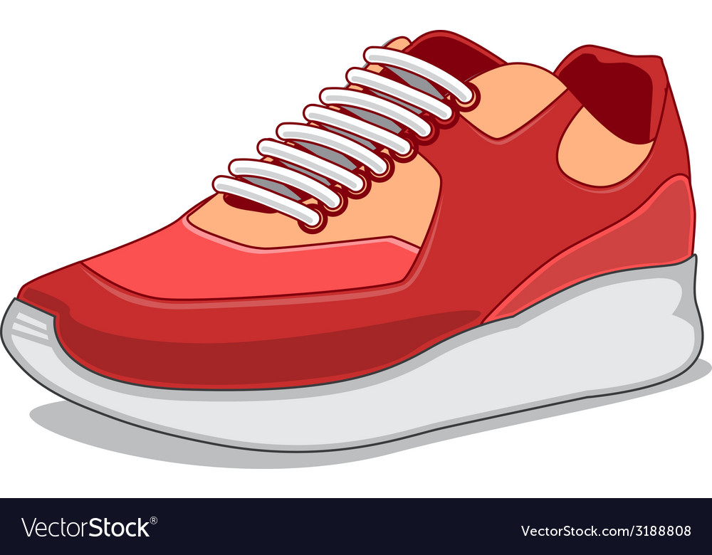 Sneakers isolated on white vector | Price: 1 Credit (USD $1)
