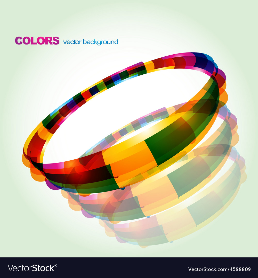 Abstract colorful circular design vector   Price: 1 Credit (USD $1)