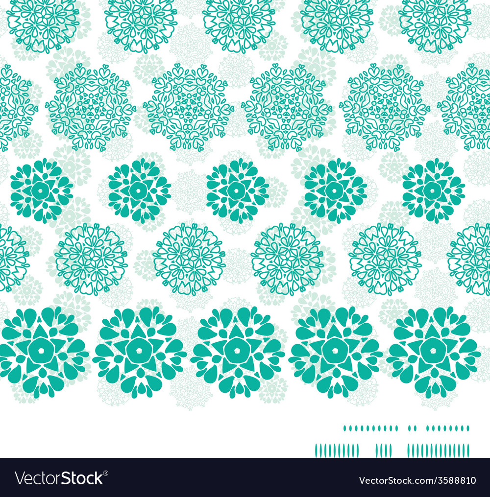Abstract green decorative circles stars striped vector | Price: 1 Credit (USD $1)