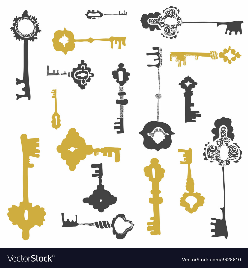 Keys10 vector | Price: 1 Credit (USD $1)