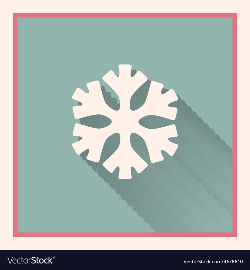 Snowflake symbol vector | Price: 1 Credit (USD $1)