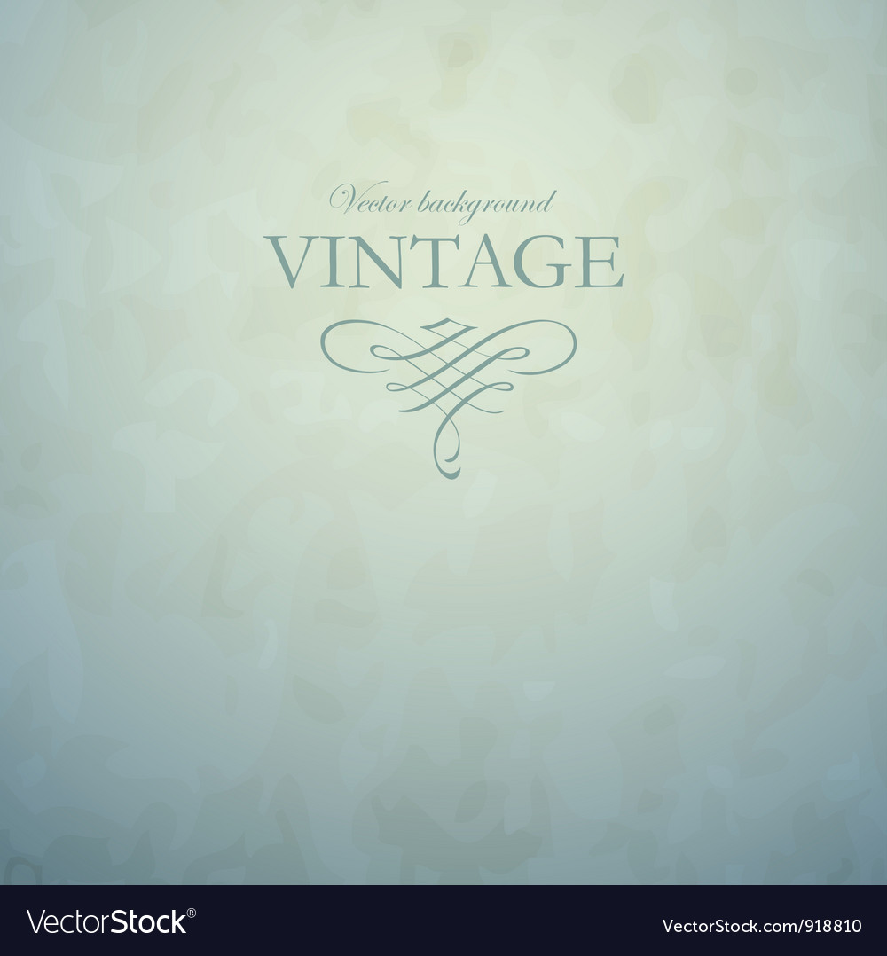 Vintage background vector | Price:  Credit (USD $)