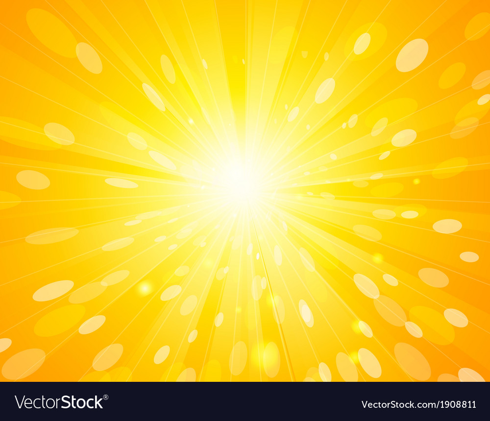 Abstract sunlight background vector | Price: 1 Credit (USD $1)
