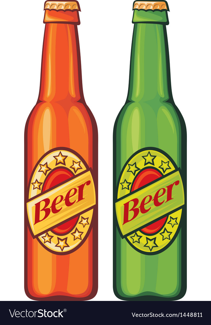 Beer beer bottles vector | Price: 1 Credit (USD $1)