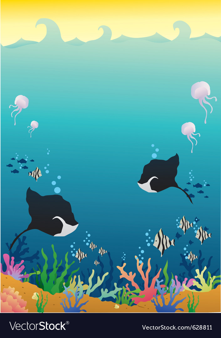 Deep sea vector | Price: 1 Credit (USD $1)