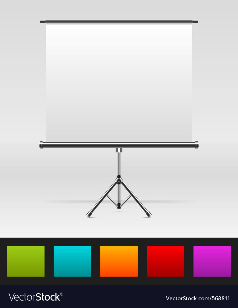White board empty space vector | Price: 1 Credit (USD $1)