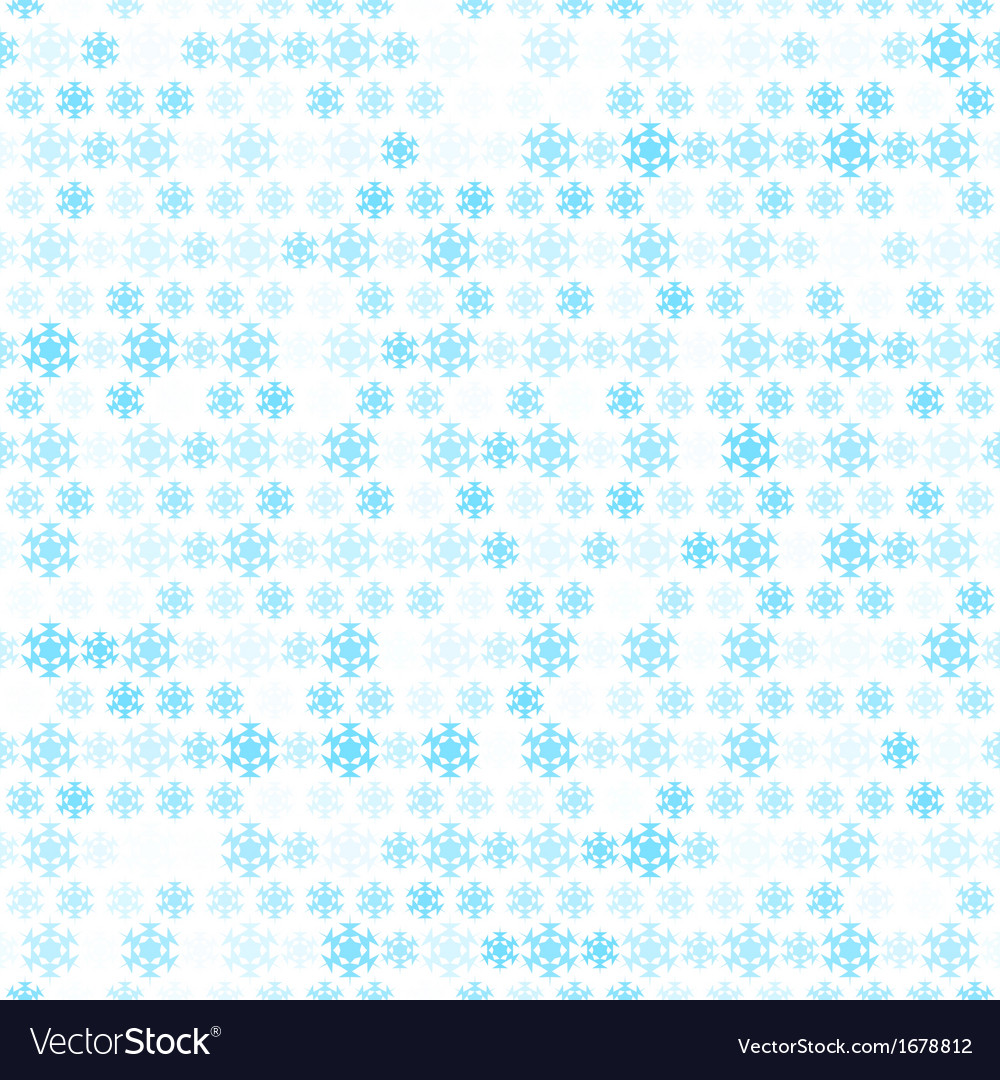 Abstract snow flake pattern wallpaper vector | Price: 1 Credit (USD $1)