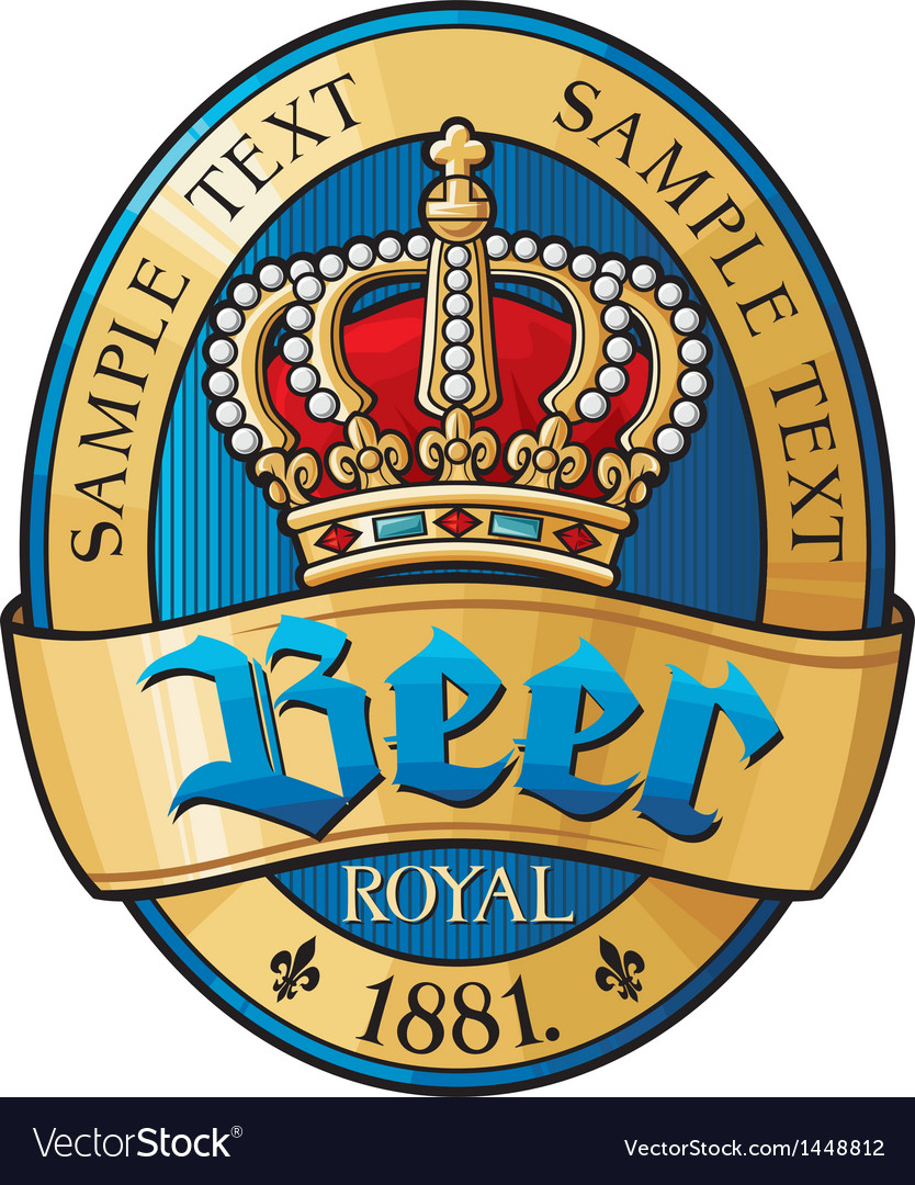 Beer label design vector | Price: 1 Credit (USD $1)