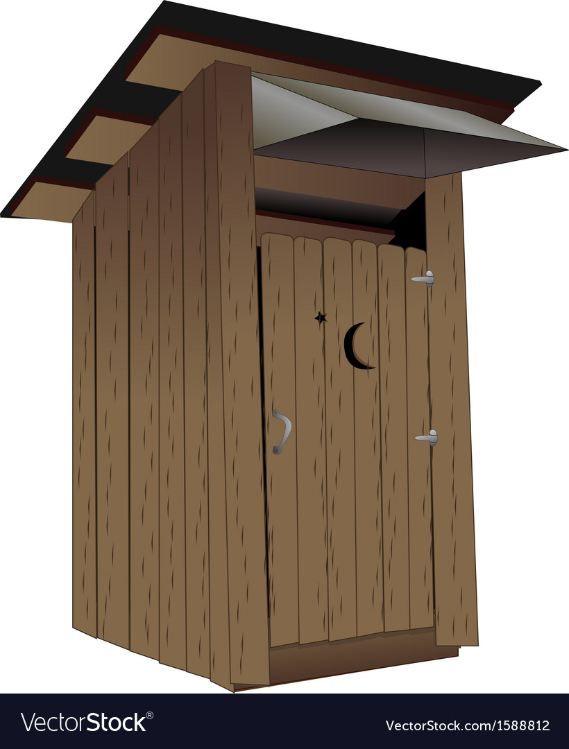Outhouse vector | Price: 1 Credit (USD $1)